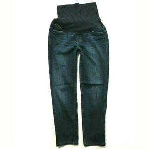 Joe's Jeans skinny cropped Capri maternity